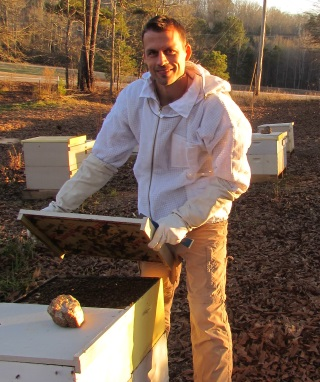 Joshua Lachmann Honeybee Swarm Removal Directory - Featured Beekeeper February 2015